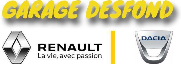 Garage Desfond - Agent Renault Dacia